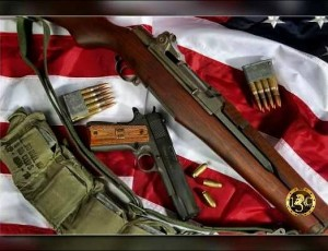 Authors M1 Garand and 1911