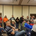 "Attempted 1,000' ban in LaPorte County ""dead"" after scores of citizens pack meeting"